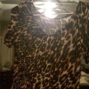 Jennifer Lopez print blouse